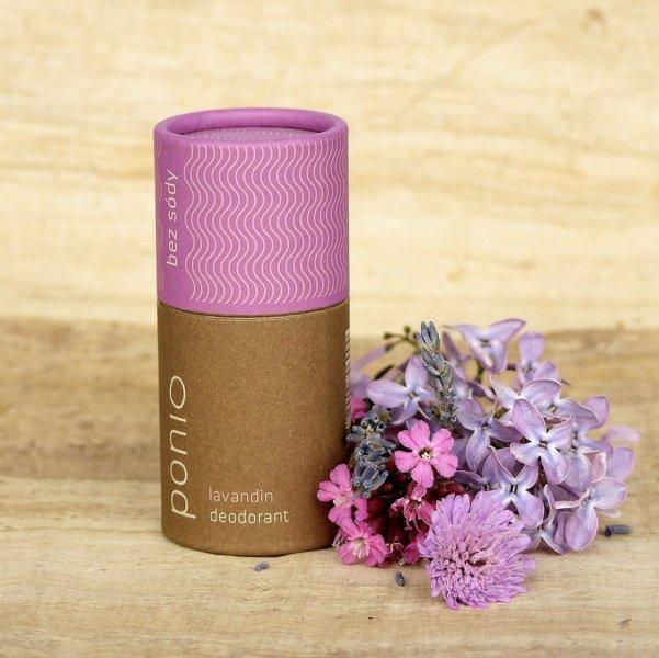 (EXP: 03/2021) Ponio prírodný deodorant - sodafree - Lavandin, 60 g