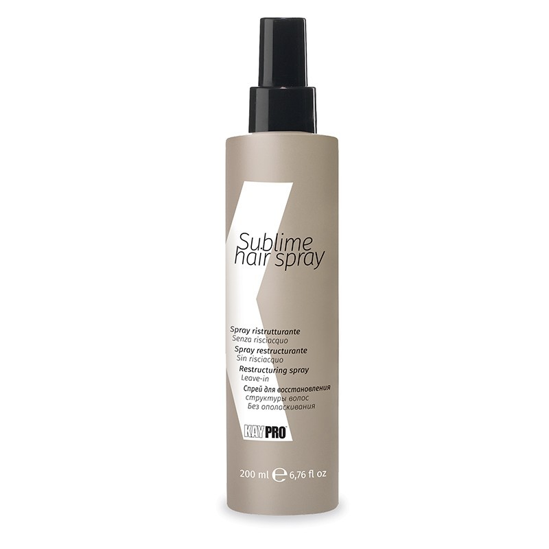 KAY PRO Sublime hair spray - vyživujúci a obnovujúci sprej, 200 ml