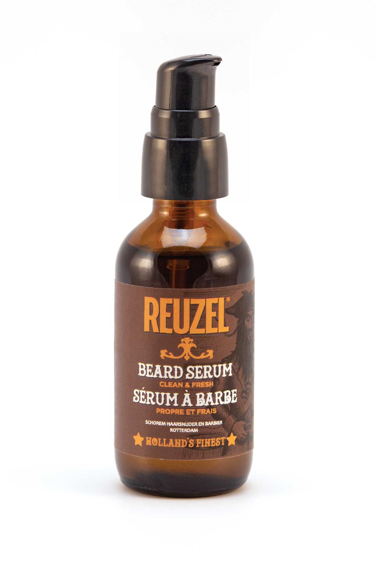 Reuzel Beard Serum Clean & Fresh - zjemňující sérum na vousy, 50g