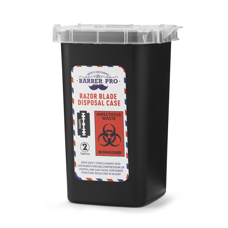 Barber Pro 1987 - kontejner na likvidaci použitých žiletek