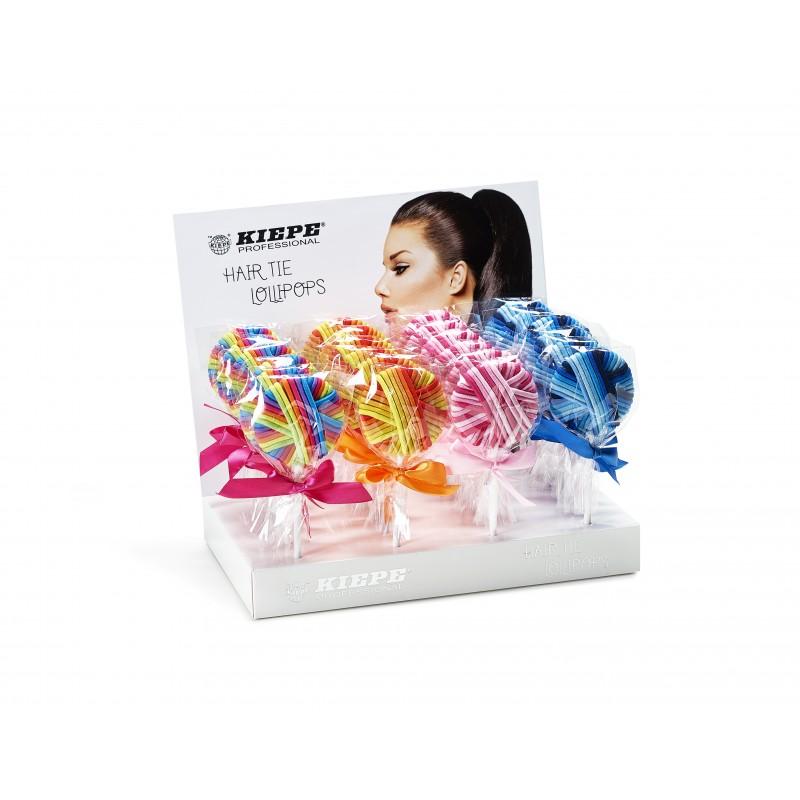KIEPE Hair Tie Lollipops - gumičky do vlasov v tvare lízanky