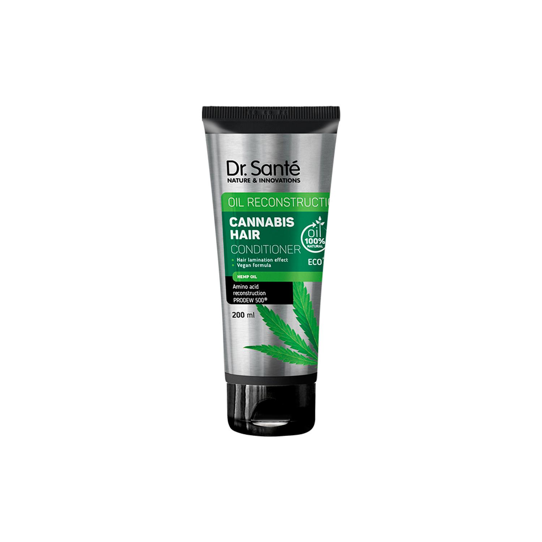 Dr. Santé Cannabis Hair Conditioner - kondicionér na slabé a poškozené vlasy s konopným olejem, 200 ml