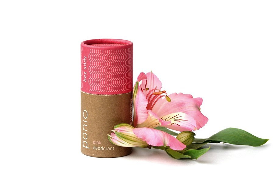 (EXP: 05/2021) Ponio přírodní deodorant - sodafree, 60 g - pink