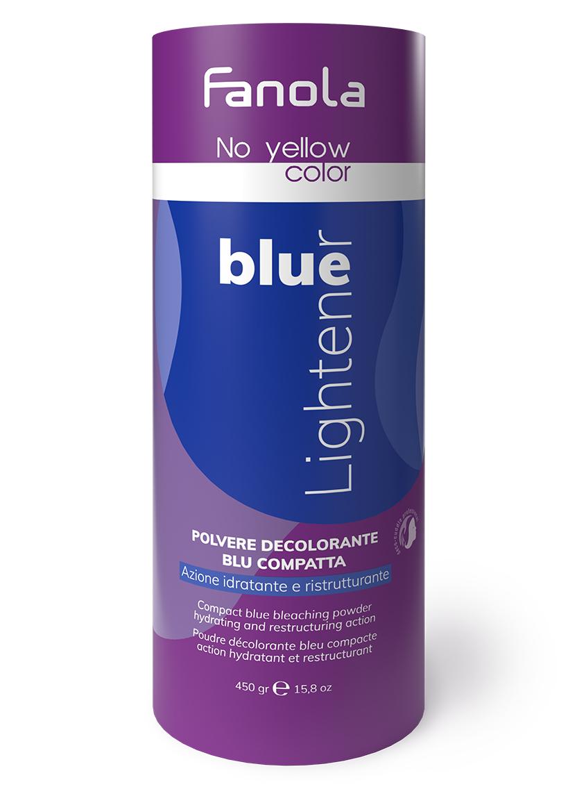 Fanola No Yellow Blue - modrý odfarbovací prášok, 450 g