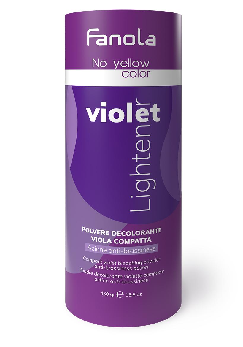 Fanola No Yellow Violet - fialový odfarbovací prášok, 450 g