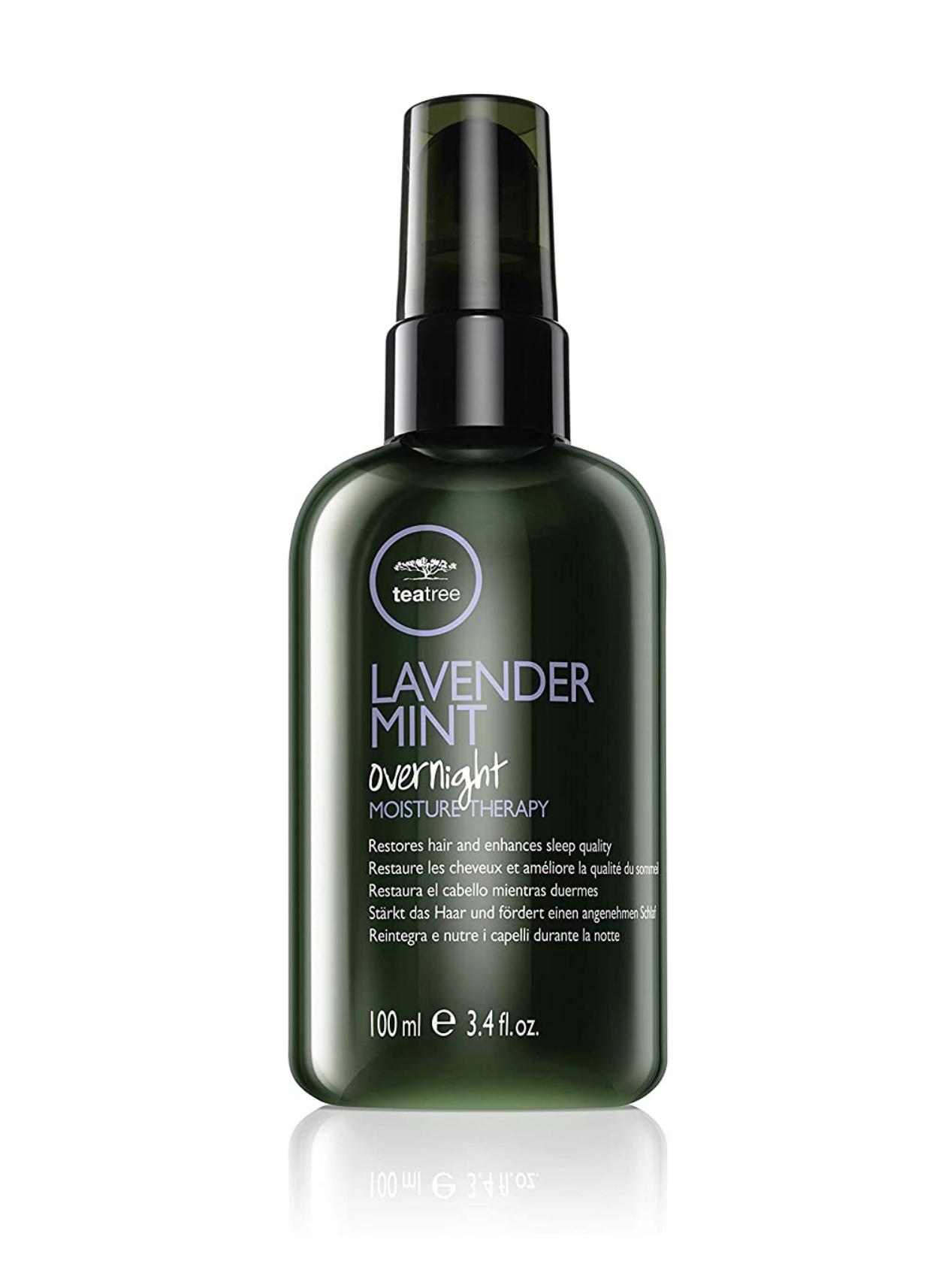 Paul Mitchell Levander Mint Overnight Moisture Therapy - neoplachujúca hydratační noční maska na vlasy, 100 ml