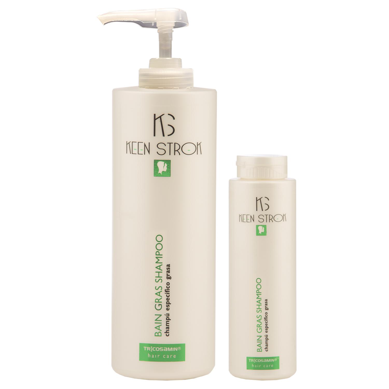 Keen Strok Bain Gras Shampoo - šampón pre mastné vlasy
