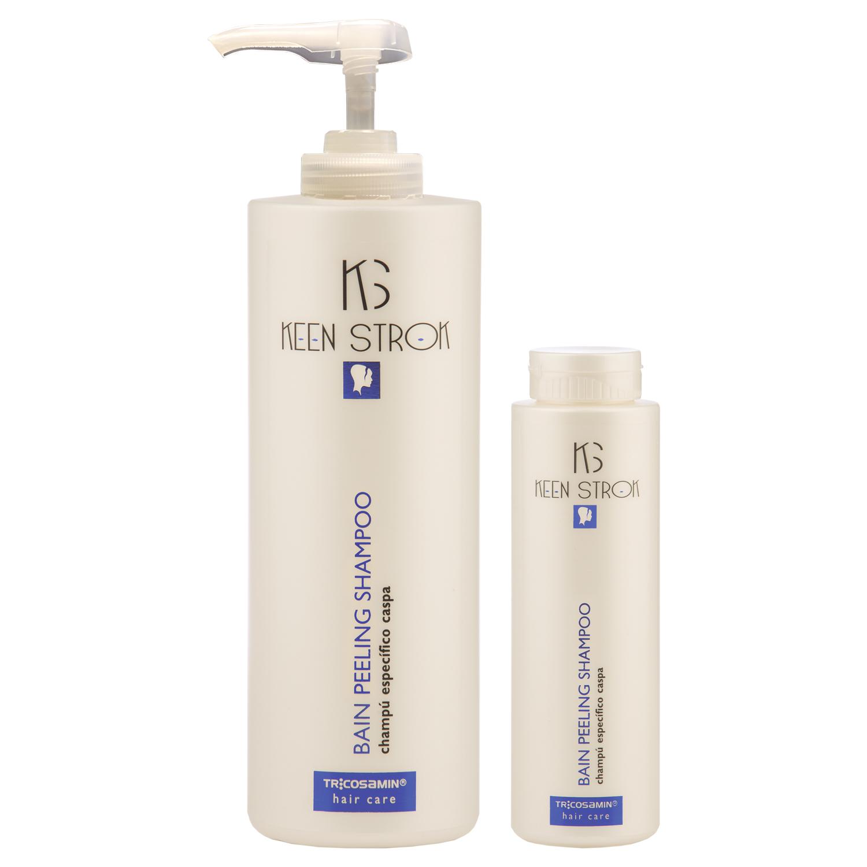 Keen Strok Bain Peeling Shampoo - šampón proti lupinám