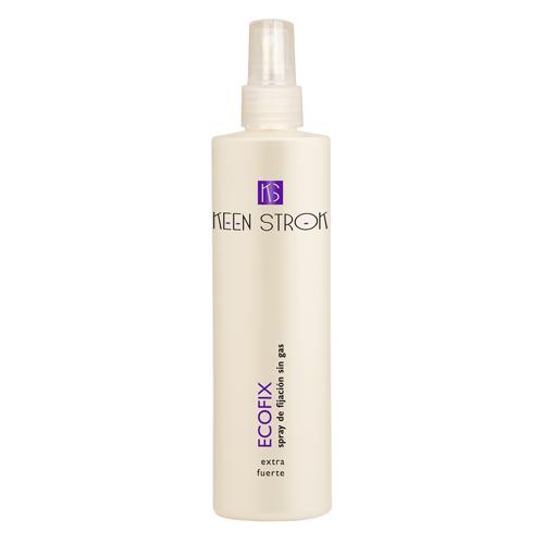 Keen Strok Ecofix Extra Strong Spray - tekutý extra silný fixačný sprej na vlasy, 250 ml