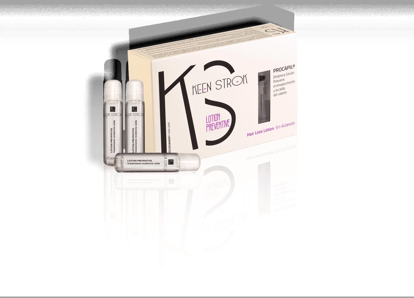 Keen Strok Procapil Preventive Hair Loss Lotion - ampulky na prevenciu proti padaniu vlasov, 12 ks / bal.
