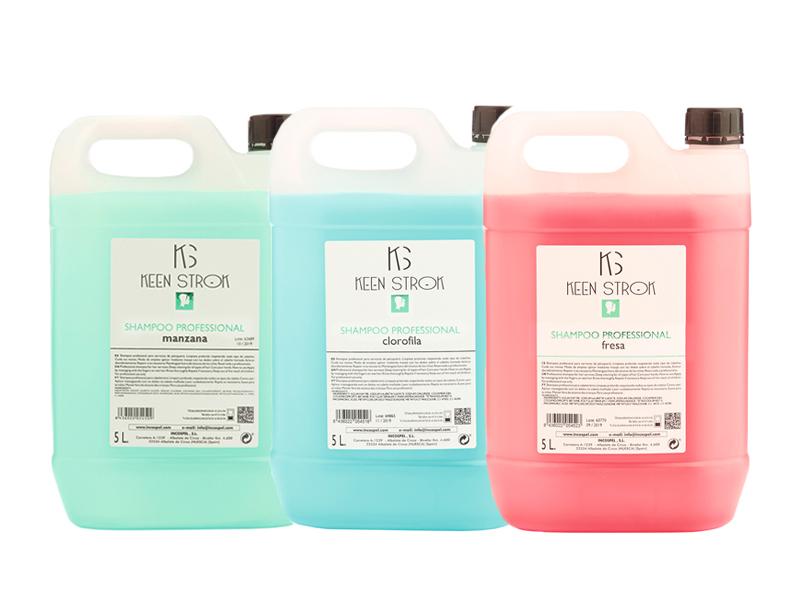 Keen Strok Professional Shampoo - profesionálny šampón,  5 000 ml