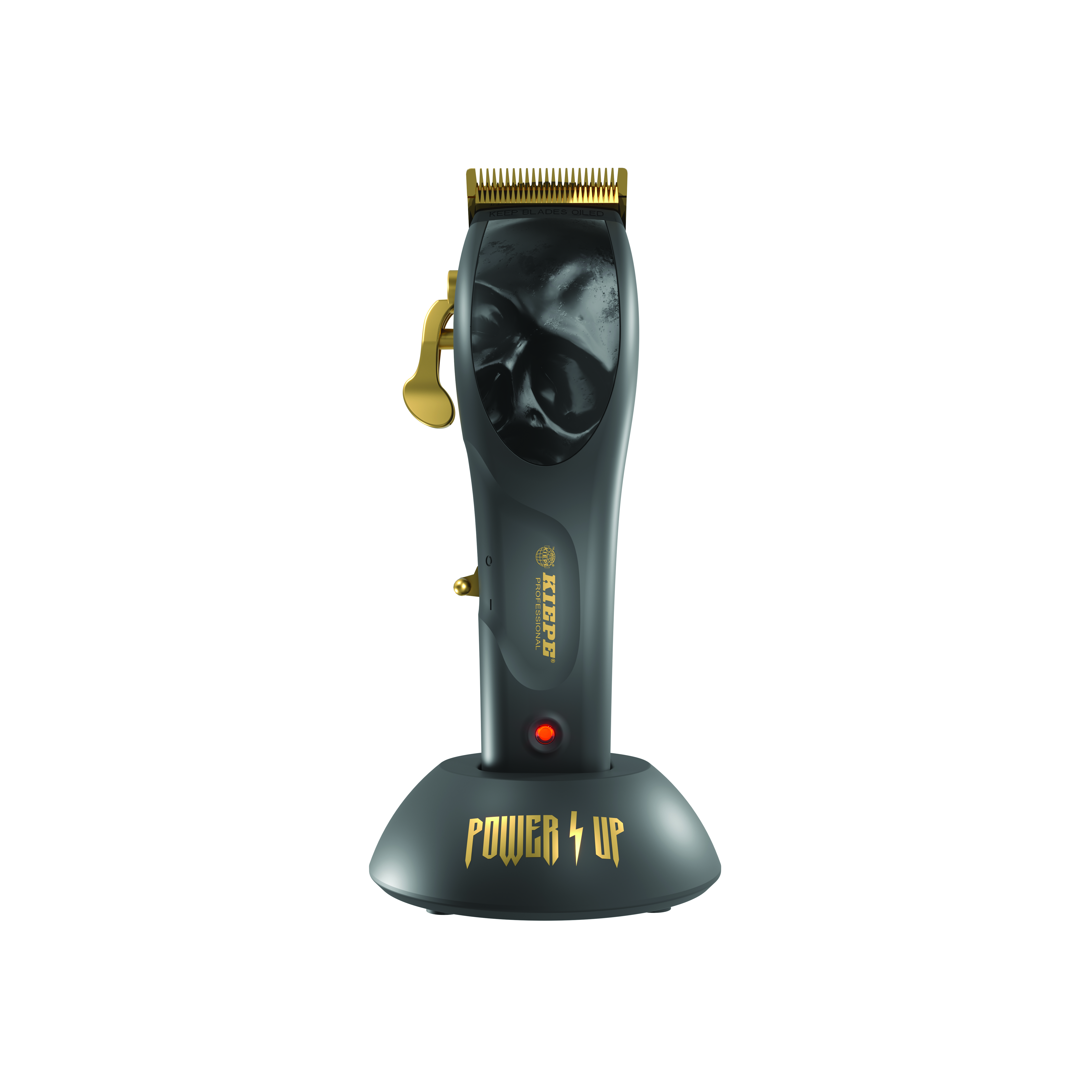 KIEPE Power Up Hair Clipper 6338 - profesionální akumulátorový stříhací strojek + stlačený vzduch, 400 ml