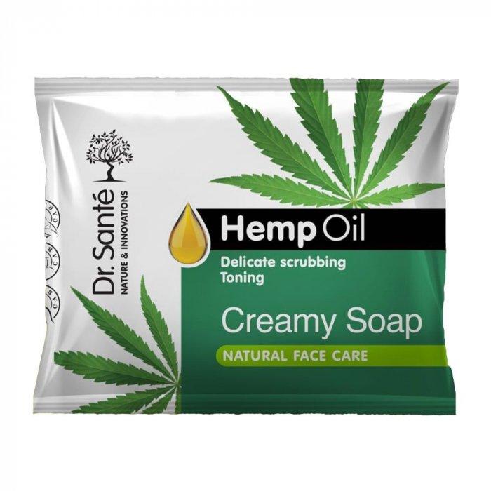 Dr. Santé Hemp Oil Creamy Soap - krémové mydlo s konopným olejom, 100 g