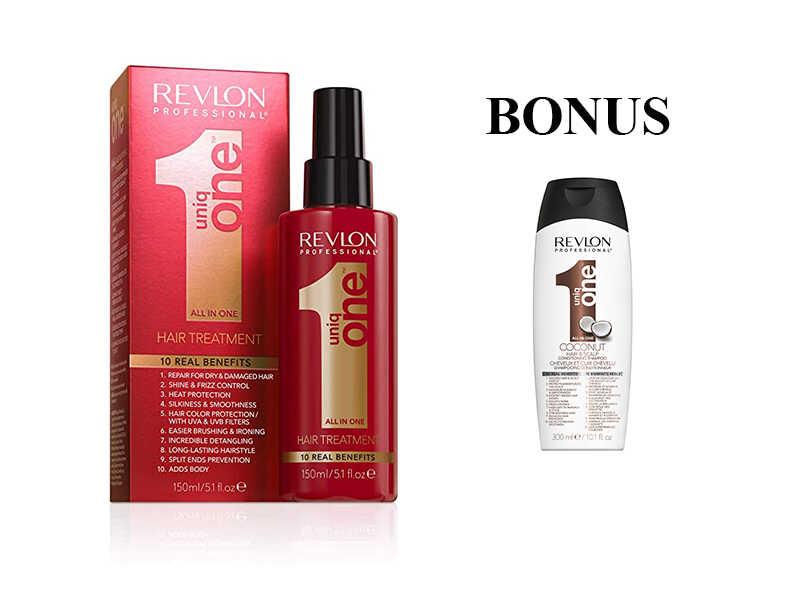 AKCE: UNIQ ONE Care - regenerační kúra pro všechny typy vlasů, 150 ml + Uniq One šampon COCONUT, 300 ml