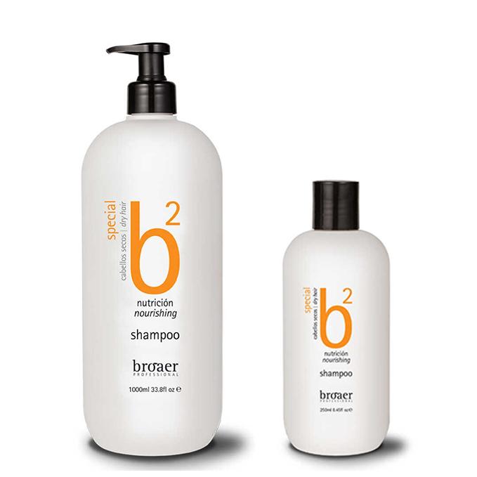 Broaer Nourishing šampon - výživný šampon na poškozené vlasy