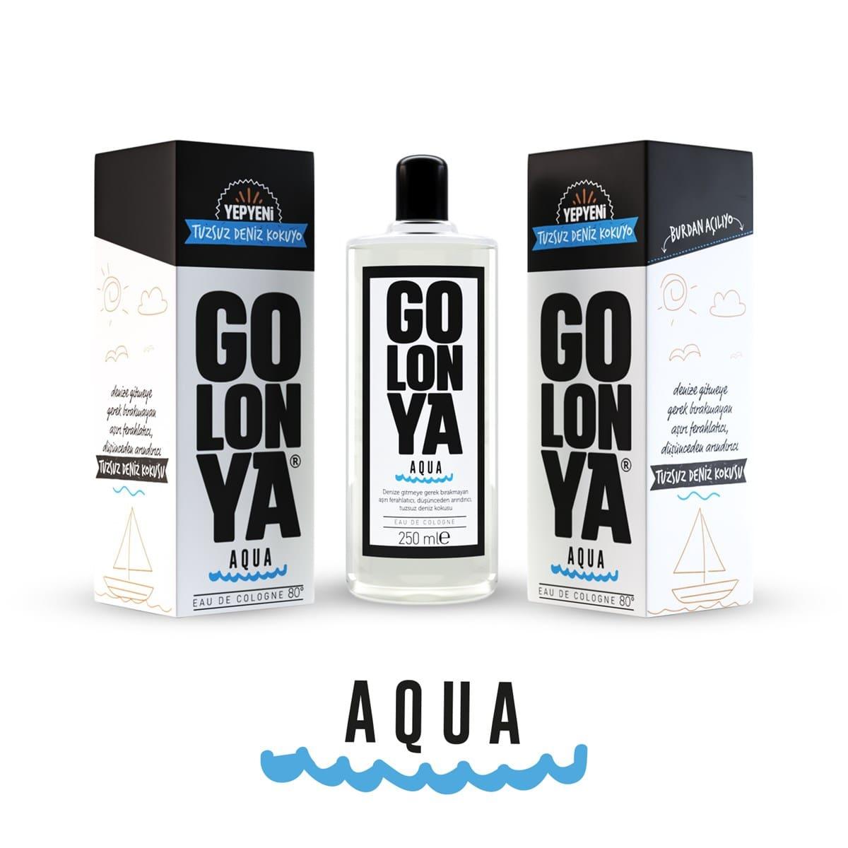 GOLONYA Aqua - kolínska voda s vôňou neslanej morskej vody