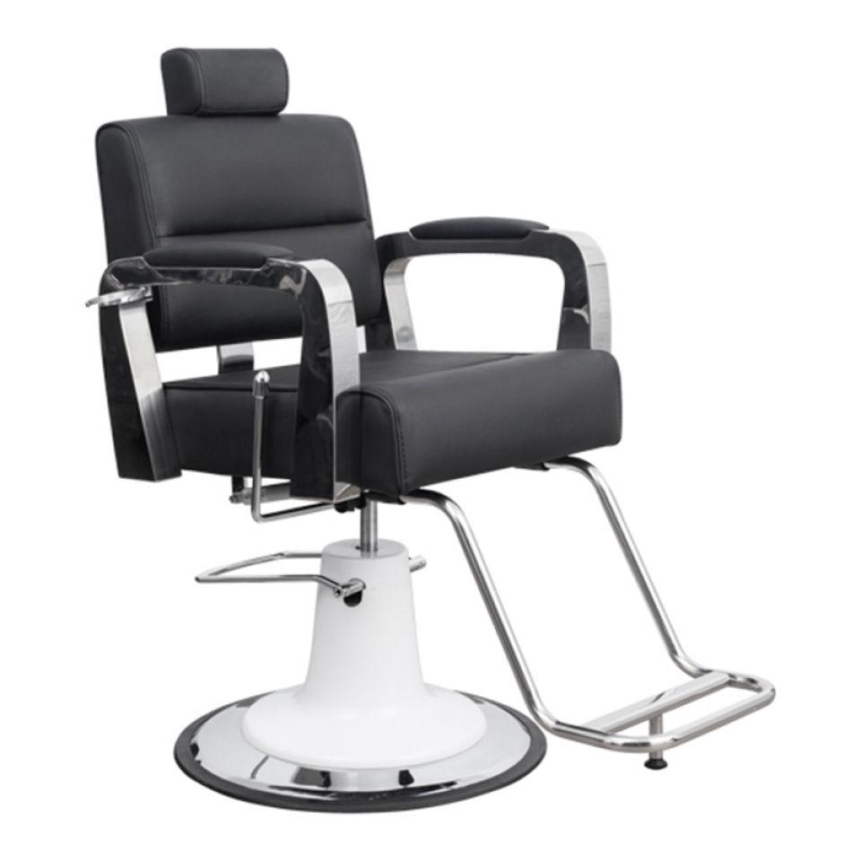 ItalPro - barber křeslo Fixi White