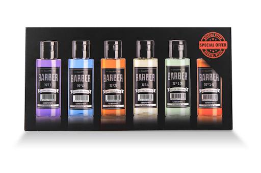 Marmara Barber Cologne Gift Set - set kolínských vôd, 6x50 ml