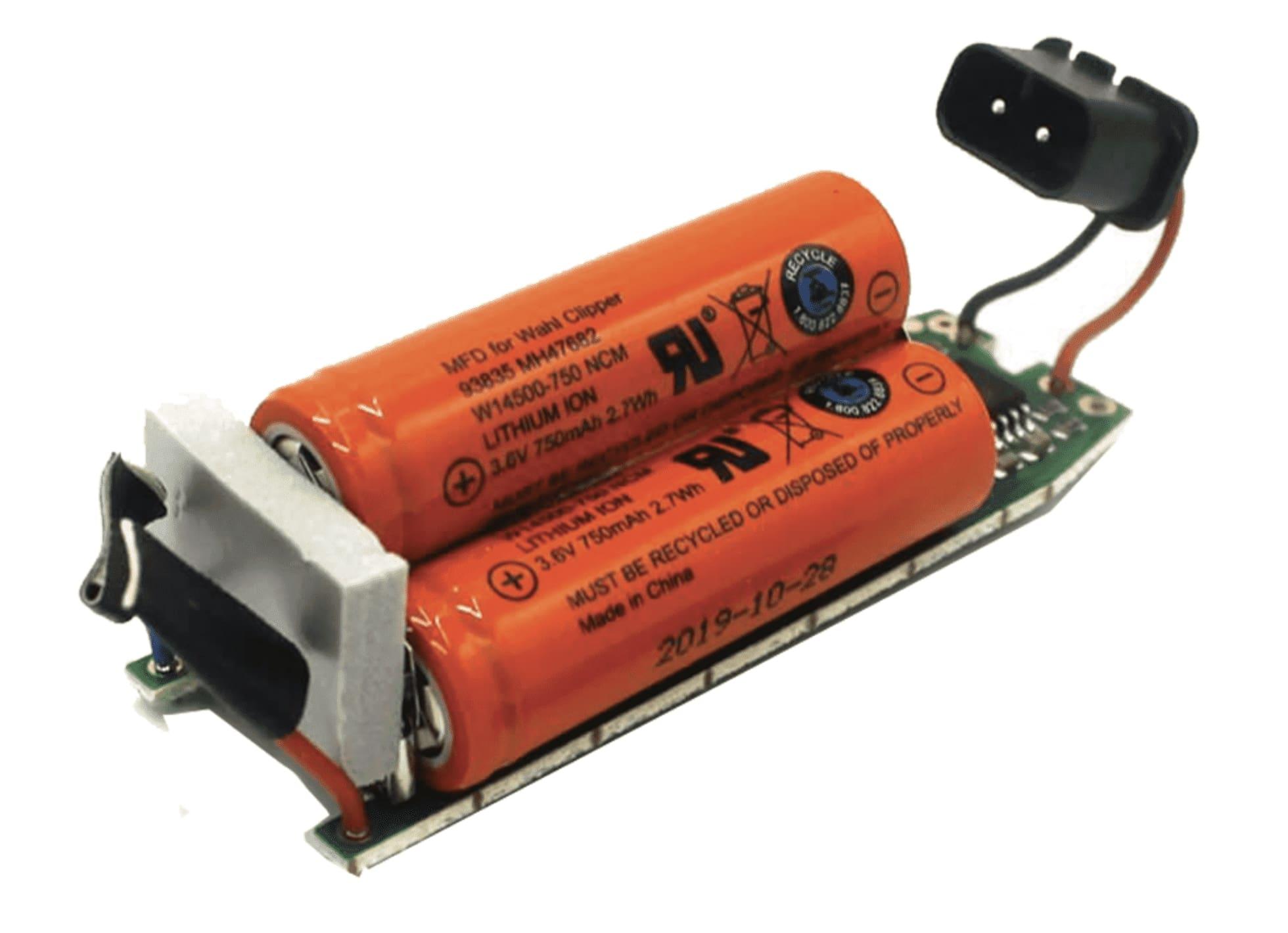 Moser - náhradní baterie pro strojek Moser 1871 PRO + elektronická základová deska