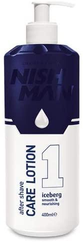 Nishman After Shave Care Lotion - regenerační pleťové mléko po holení, 400 ml