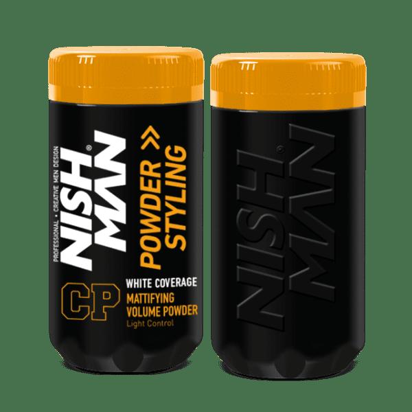Nishman Hair Styling Powder White Coverage CP1 - stylingový púder s kryciou schopnosťou, 20 g