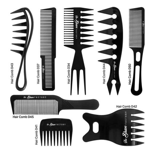 The Shave Factory Hair Comb - profesionálne holičské hrebene