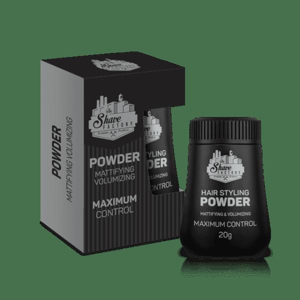 The Shave Factory Hair Styling Powder - stylingový objemový púder, 20g