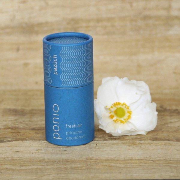 (EXP: 08/2021) Ponio přírodní deodorant - Fresh Air, 60 g
