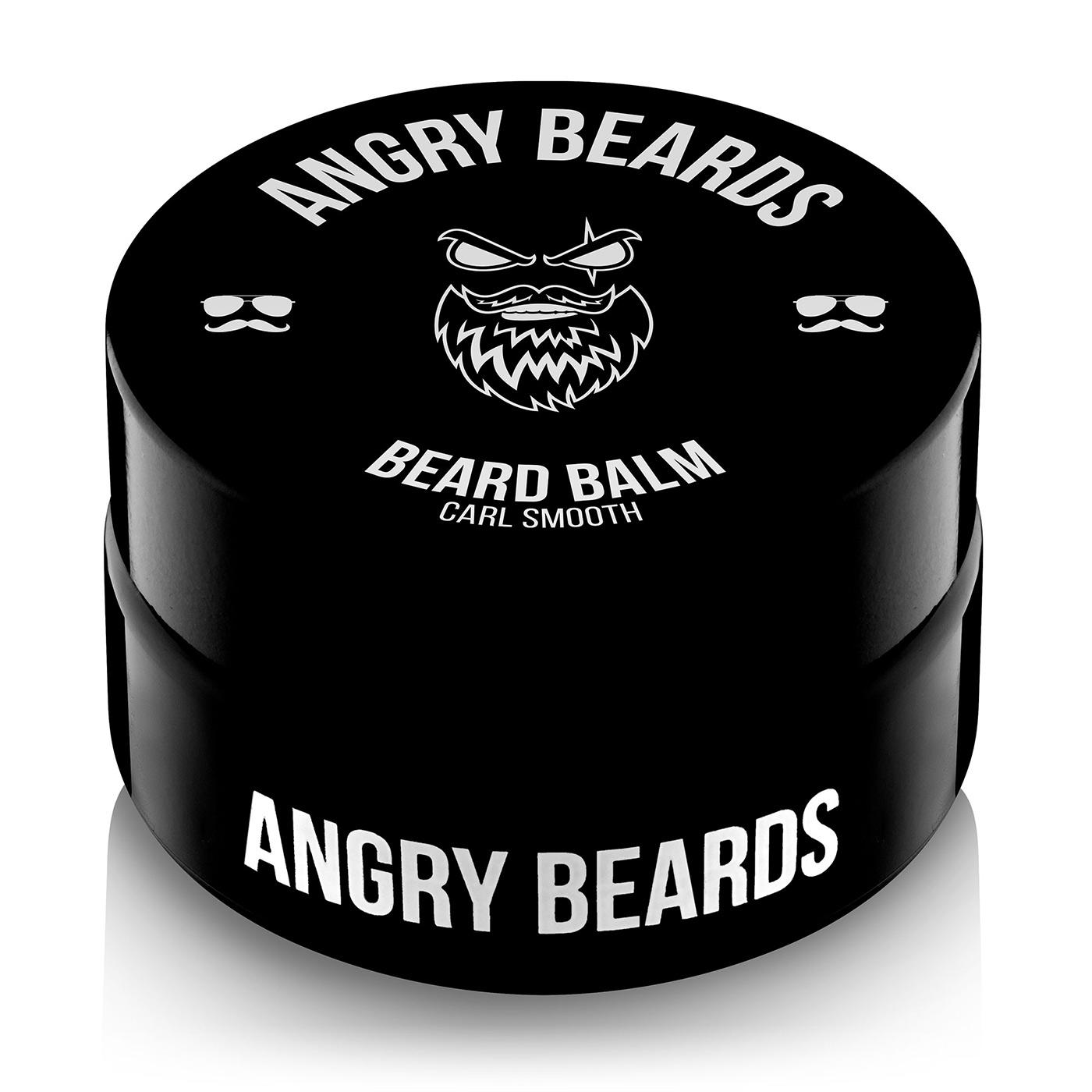 Angry Beards - Beard Balm Carl Smooth - Balzám na vousy