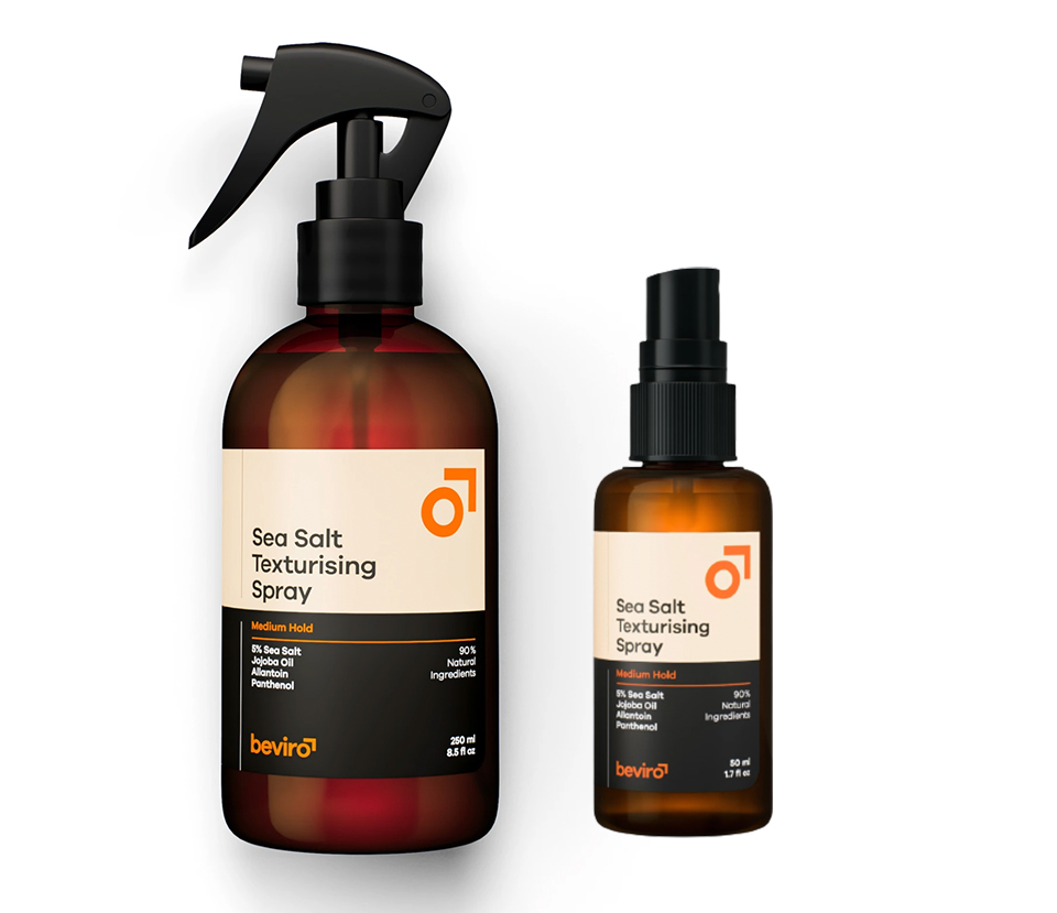 Be-Viro Sea Salt Medium Hold - slaný sprej pro texturu a objem vlasů