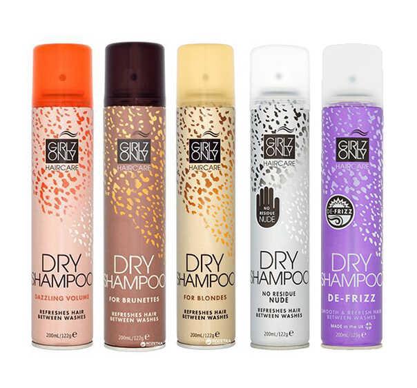 Girlz Only Dry Shampoo - suché šampony, 200 ml