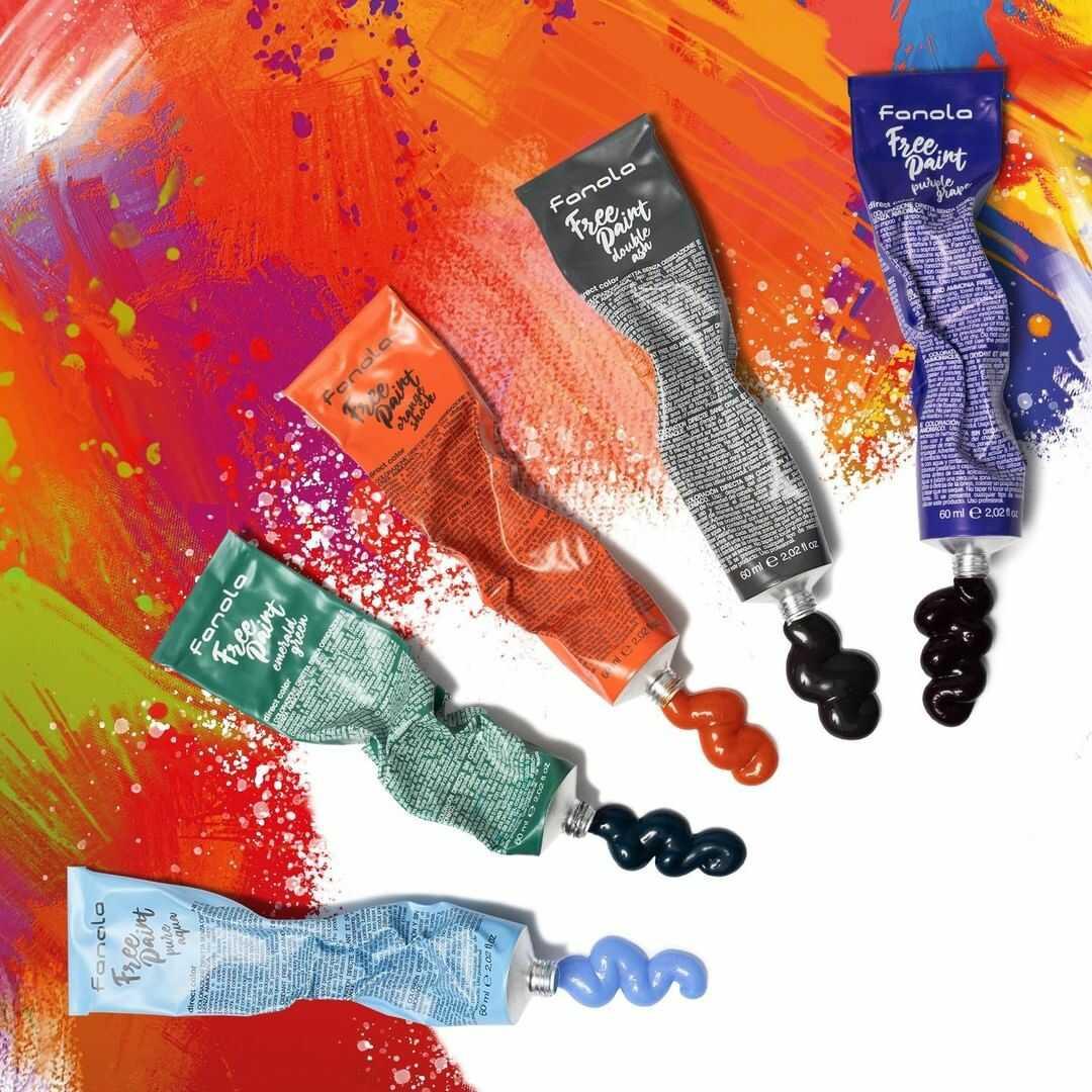 Fanola Free Paint - semipermanentné farby na vlasy, 60 ml