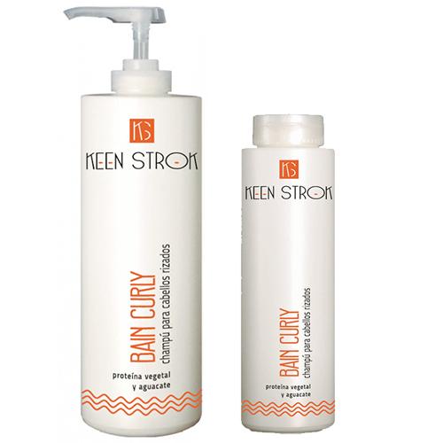 Keen Strok Bain Curly Shampoo - šampón na kučeravé, vlnité vlasy
