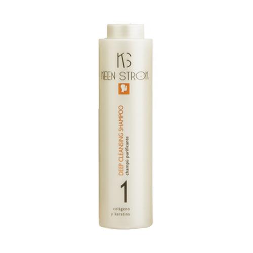 Keen Strok Deep Cleansing Shampoo - hĺbkovo čistiaci šampón na profesionálne použitie, 500 ml