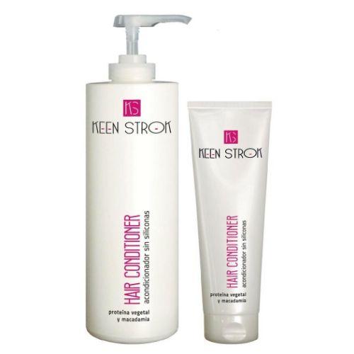 Keen Strok Hair Conditioner - kondicionér na vlasy s rastlinnými proteínmi a makadamiovým olejom