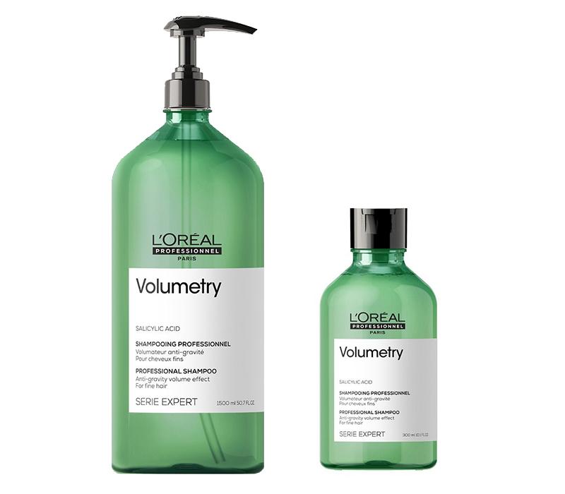 L'Oréal Professionel Volumetry Shampoo - objemový šampón pre jemné vlasy