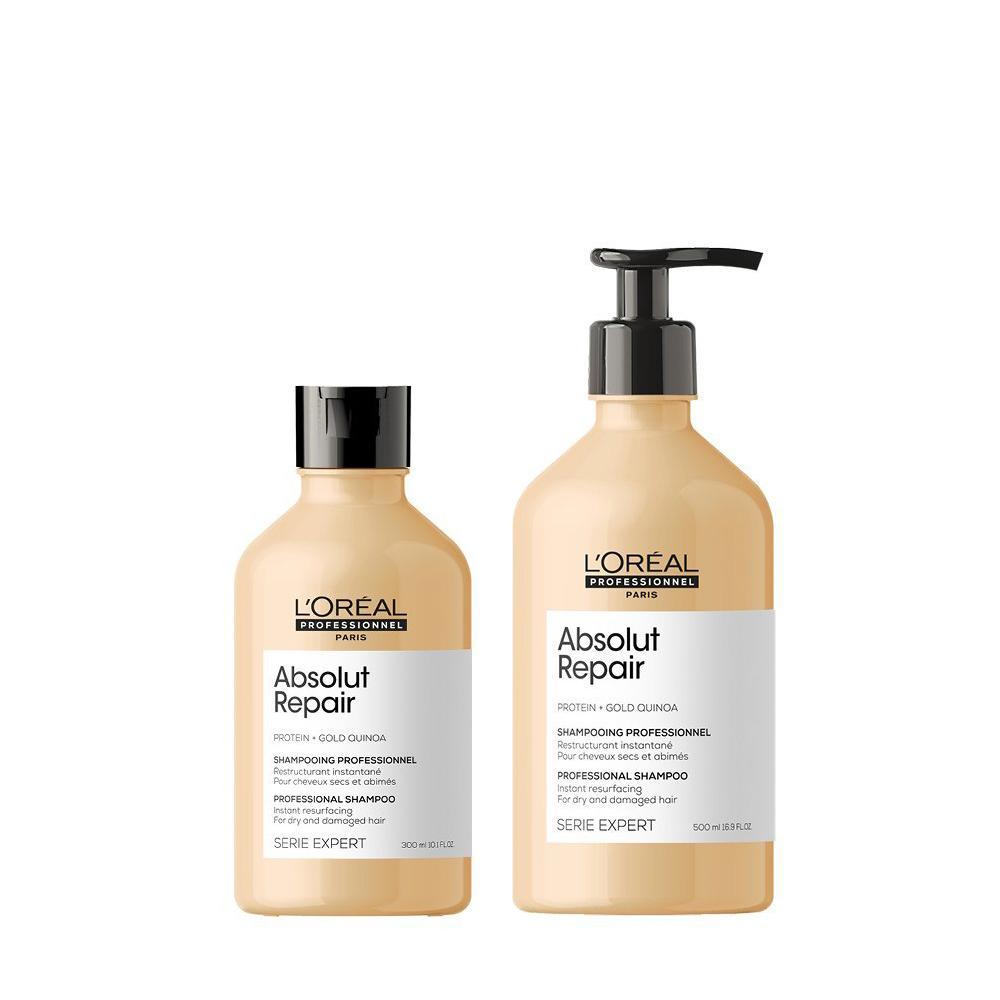 L'Oréal Professionnel Absolut Repair Shampoo - regeneračný šampón pre veľmi poškodené vlasy
